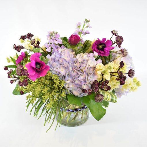 Lush Garden Flower Arrangement - Flower Girl