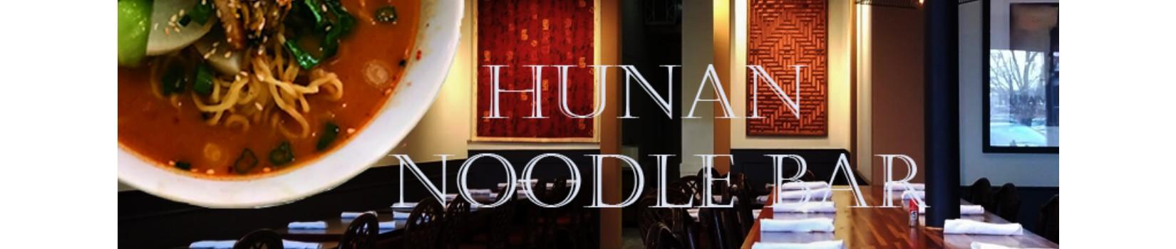 Hunan Noodle Bar